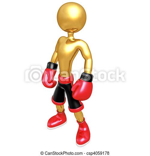 Boxing - csp4059178