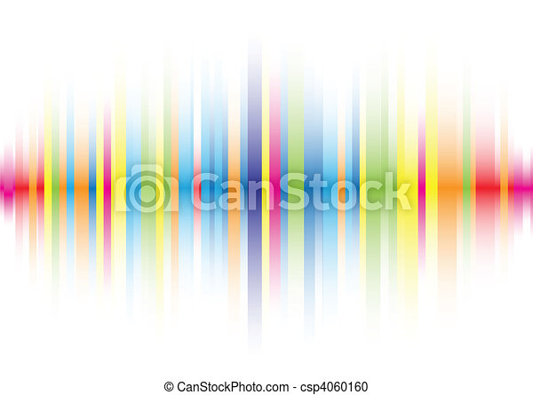 Abstract color line background - csp4060160