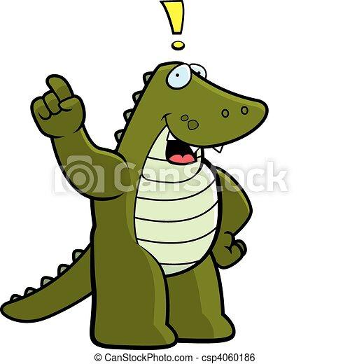 Alligator Idea - csp4060186