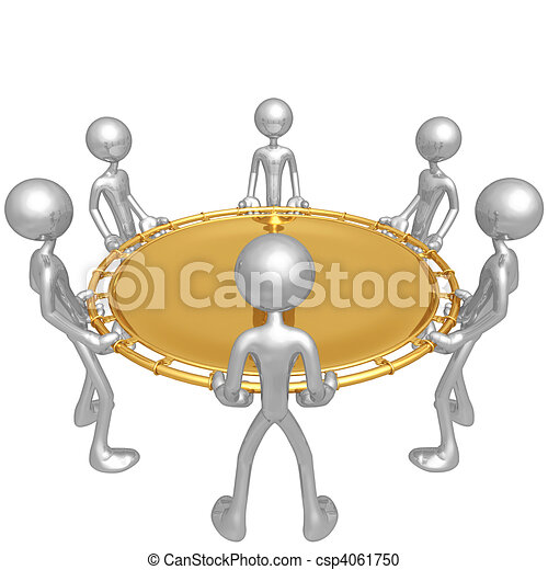 Stock Illustration of Safety Net - A Concept And ...