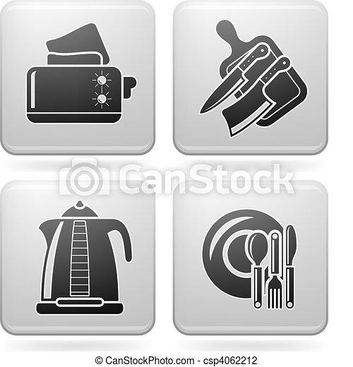Kitchen Utensils - csp4062212