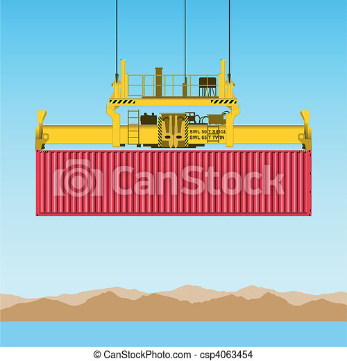 Freight Container - csp4063454