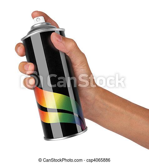 graffiti spray can - csp4065886