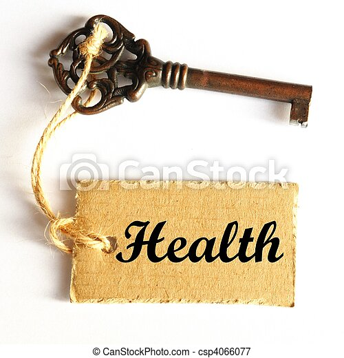 key to health - csp4066077
