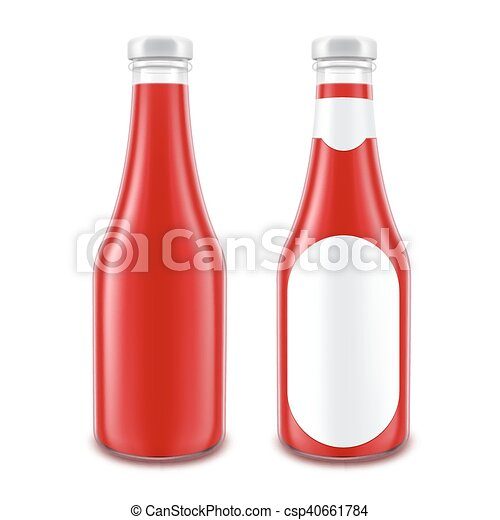 Glas leer clipart  Vektor von fleischtomaten, satz, flasche, brandmarken ...