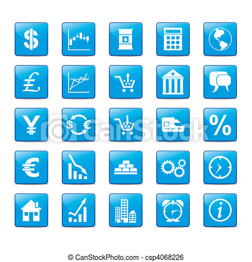 Iconset Markets - csp4068226