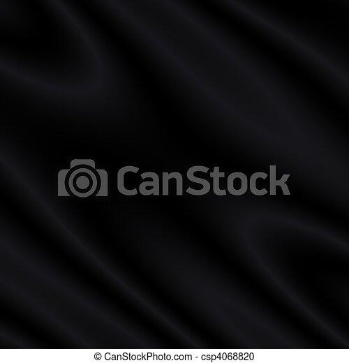 Black Satin/Silk/Velvet Background - csp4068820