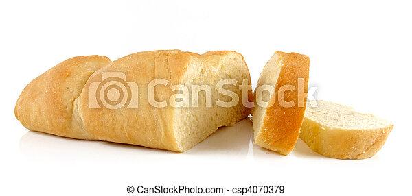 Fresh homemade bread - csp4070379
