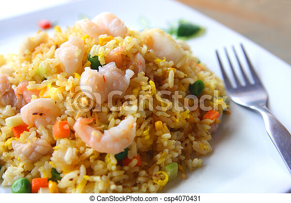 Fried Rice - csp4070431