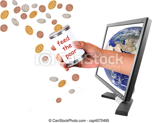 Donating different currencies through internet - csp4070495