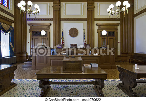 Court of Appeals Courtroom 3 - csp4070622