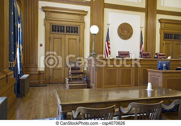 Court of Appeals Courtroom - csp4070626