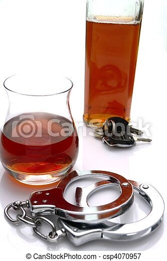 Alcohol and the Law - csp4070957