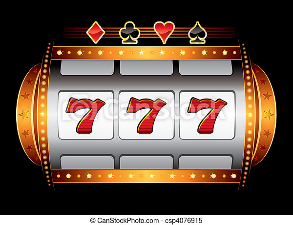 Casino machine - csp4076915