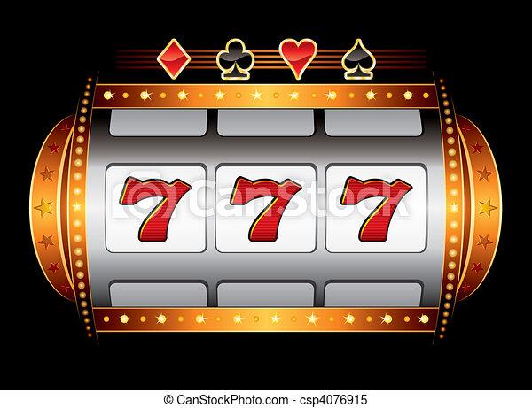 Casino machine - csp4076915
