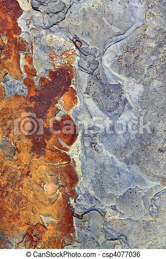 slate stone gray ruety color texture background - csp4077036