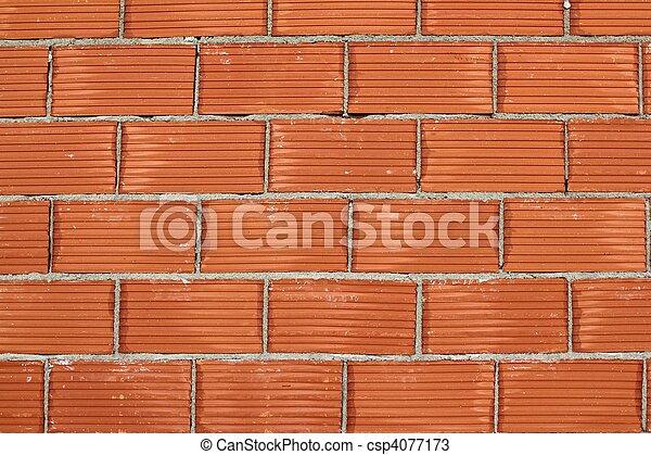 photos de rouges argile brique mur construction airbrick csp4077173 recherchez des. Black Bedroom Furniture Sets. Home Design Ideas