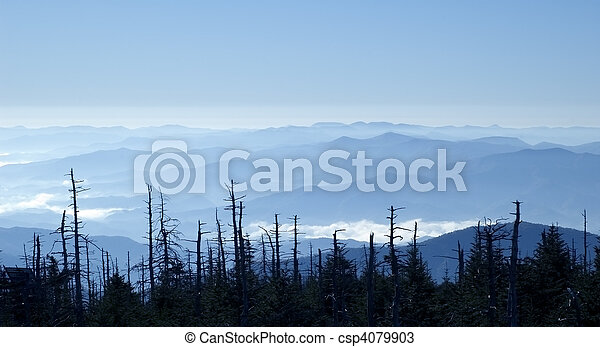 Blue Ridge Mountains - csp4079903