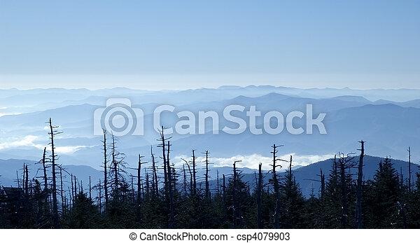 Blue Ridge Mountains - csp4079903