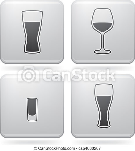 Alcohol glasses - csp4080207