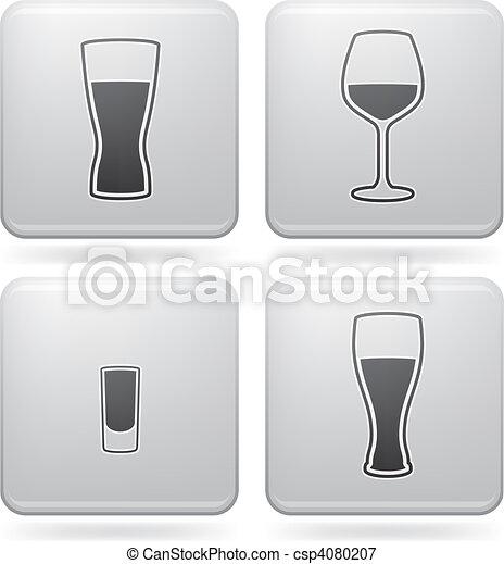 Alcohol glasses - csp4080207
