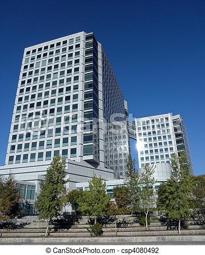 Adobe Building in San Jose, California - csp4080492