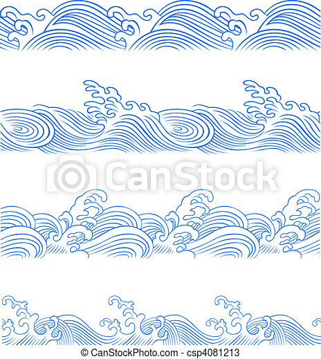 ocean wave set - csp4081213