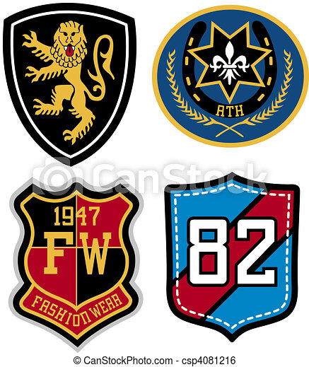 emblem badge design - csp4081216