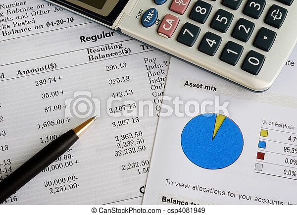 Check the monthly account statement - csp4081949