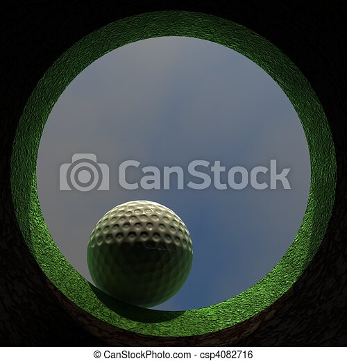 Hole in One - csp4082716