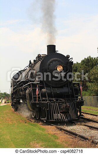 1940's Steam Train - csp4082718
