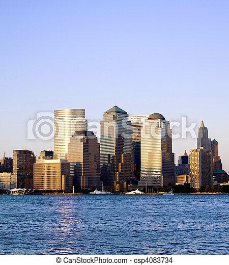 World Trade Center, New York City - csp4083734