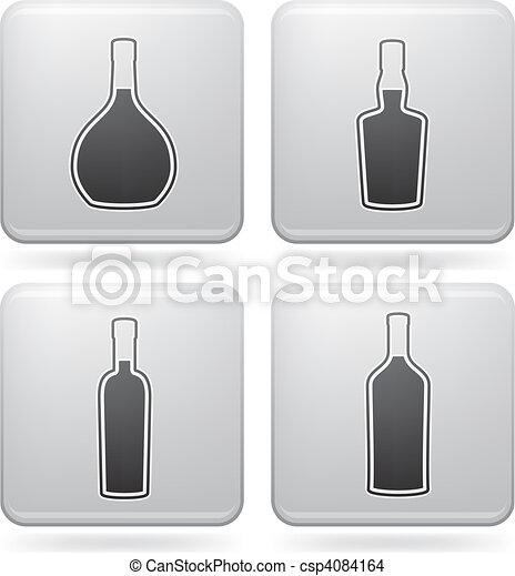 Alcohol glasses - csp4084164