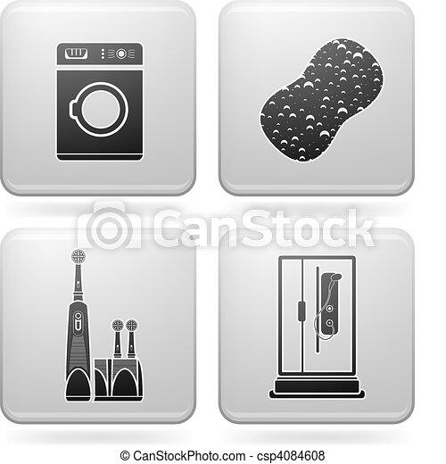 Bathroom Appliances - csp4084608