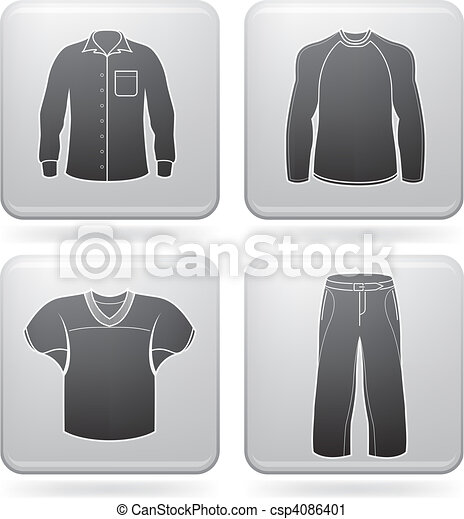 Man's Clothing - csp4086401
