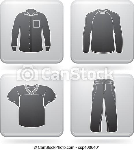 Man\'s Clothing - csp4086401