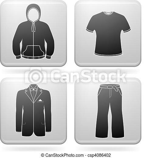 Man\'s Clothing - csp4086402