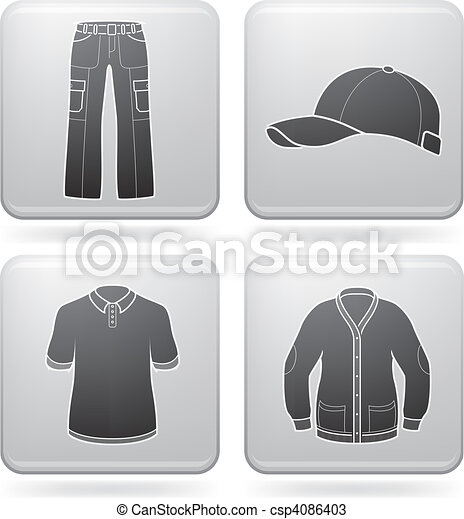 Man's Clothing - csp4086403