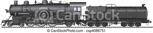 old locomotive - csp4086751