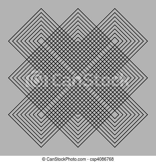 Optic illusion - csp4086768