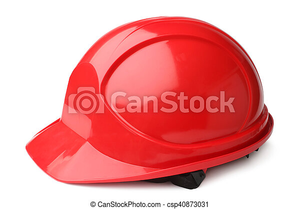 Red hard hat - csp40873031