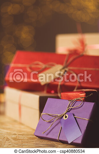Christmas presents are a surprise for children
