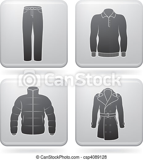 Man's Clothing - csp4089128