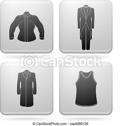 Man's Clothing - csp4089129