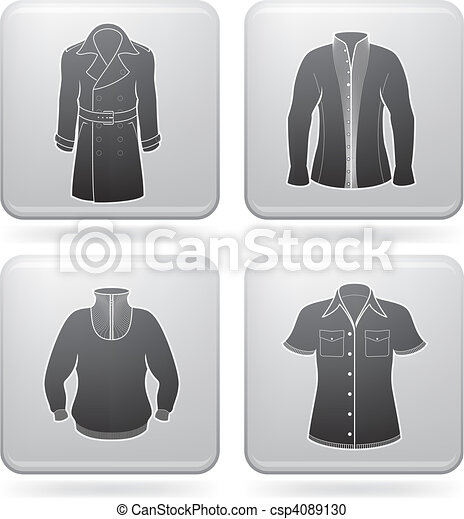 Man's Clothing - csp4089130