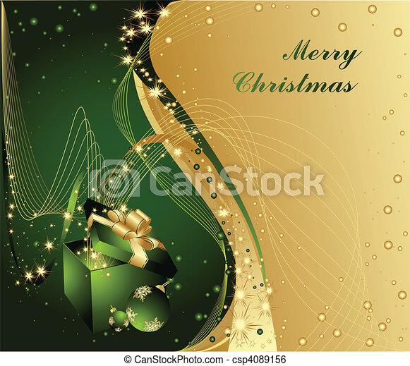 Merry Christmas - csp4089156