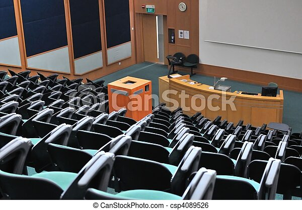Lecture theater - csp4089526