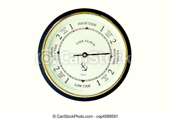 tide clock - csp4089591