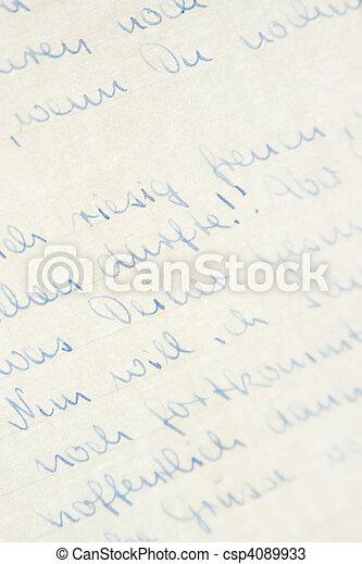 Handwriting - csp4089933