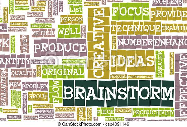 Brainstorm - csp4091146